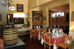 Inside Fabio's, Hermanus