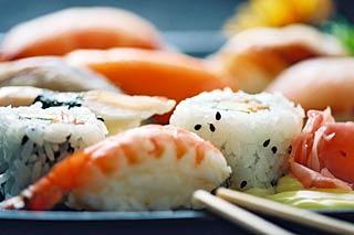 sushi at Balducci's