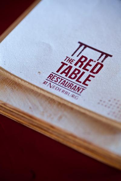 The Red table restaurant @ Nederburg