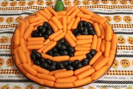 Veggie-Tray-Pumpkin